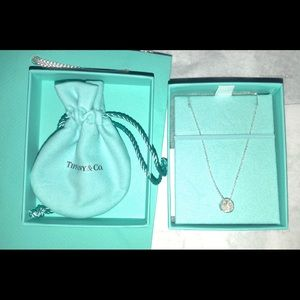 Tiffany & Co. knot pendant necklace